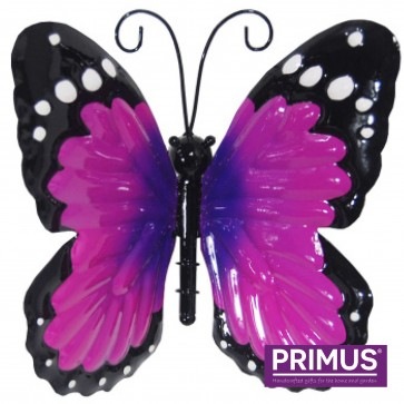 Small Metal Butterfly Purple