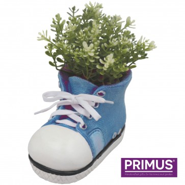 Shoe Planter Small (Frost Proof Polyresin) Blue