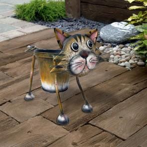 Nodding Cat Planter