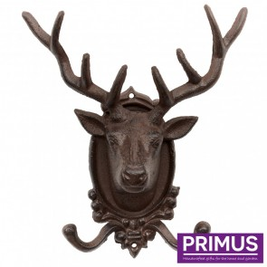 Stag Head Coat Hook