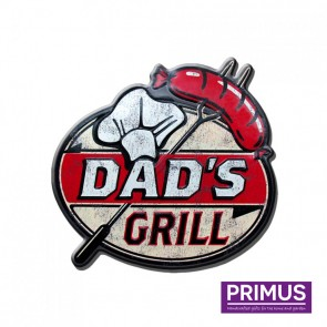 Dad's Grill Plaque - 36 x 38cm