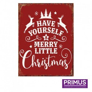 Have Yourself a Merry Little Christmas Plaque - 25 x 33cm
