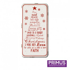 Christmas Tree Words Plaque - 40 x 80cm