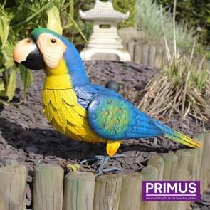 Metal Blue Parrot