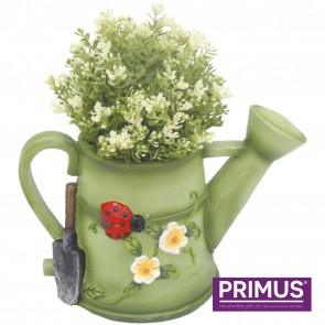 Watering Can Planter (Frost Proof Polyresin) Green