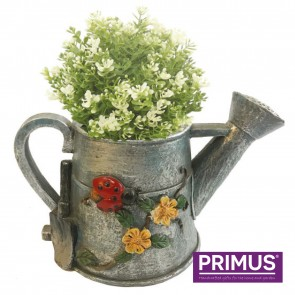Watering Can Planter (Frost Proof Polyresin) Grey