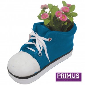 Shoe Planter Large (Frost Proof Polyresin) Blue
