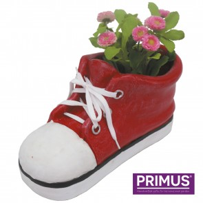 Shoe Planter Large (Frost Proof Polyresin) Red