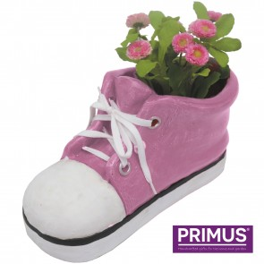 Shoe Planter Large (Frost Proof Polyresin) Pink