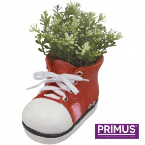 Shoe Planter Small (Frost Proof Polyresin) Red
