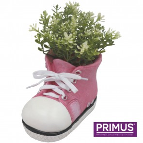 Shoe Planter Small (Frost Proof Polyresin) Pink