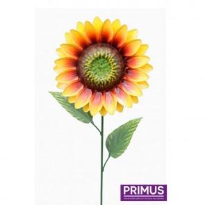 Medium Metal Sunflower