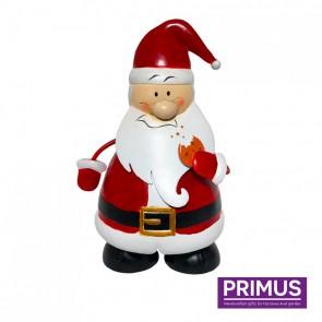 Miniature Metal Wobbling Santa