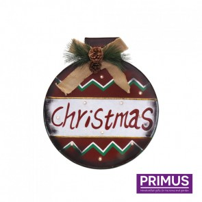 Christmas Bauble LED Sign