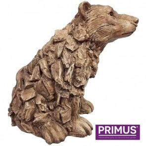 Wood Effect Polar Bear