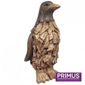 Wood Effect Penguin