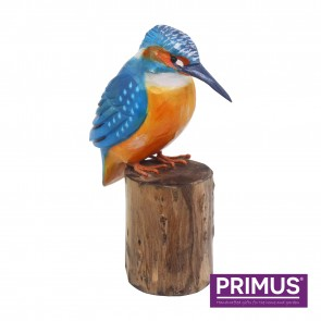 RSPB Hand Crafted Wooden Kingfisher with Display Box