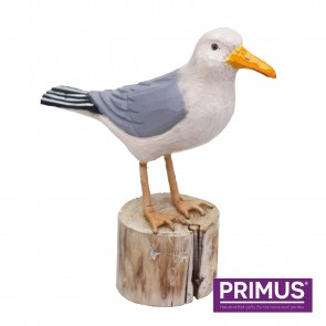 RSPB Hand Crafted Wooden Herring Gull