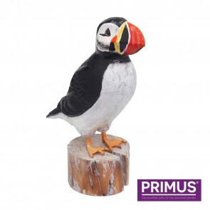 RSPB Hand Crafted Wooden Puffin