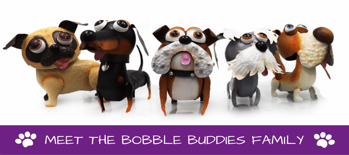 Ontmoet de bobble buddies!